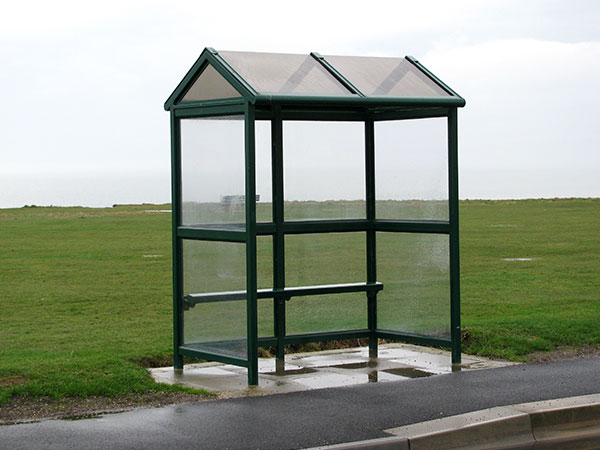 Arun Pitched Roof Bus Shelter