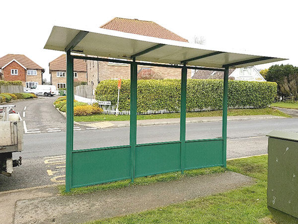 Bus Shelter Cleaning & Maintenance