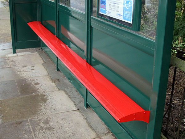 Bus Shelter Seating